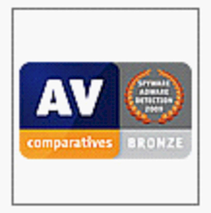 AV Comparitives BRONZE - Dez. 2009