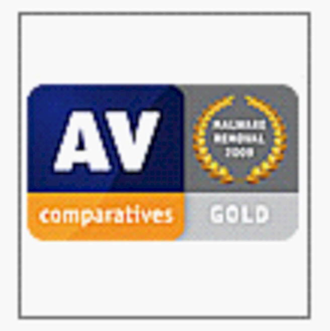 AV Comparitives GOLD - Dez. 2009